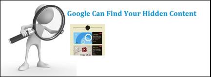 Find Hidden Content