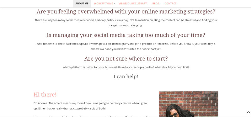OnlineDrea.com-About-Page