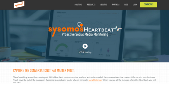 Sysomos-heartbeat